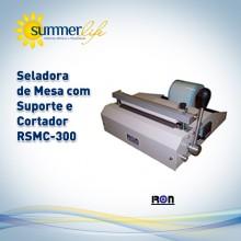 Seladora de Mesa Com Suporte e Cortador RSMC-300