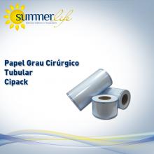 Papel Grau Cirúrgico - Tubular Cipack