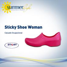 Sticky Shoe Woman Pink