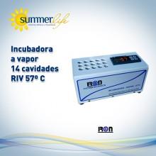 Incubadora a Vapor 14 Cavidades RIV 57º C