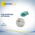 Teste de Detecção de Proteínas