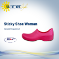 Sticky Shoe Woman Pink