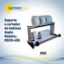 Suporte e Cortador de Bobinas Duplo RSCD-450