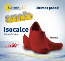Isocalce - Vermelho