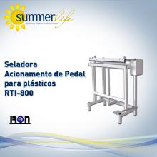 Seladora Acionamento de Pedal para plasticos RTI-800
